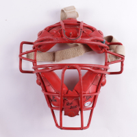 "Carlton Fisk Signed Vintage Catcher's Mask Inscribed ""HOF 2000"" (PSA COA) (See Description) at PristineAuction.com"