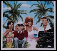 "Bob Denver & Dawn Wells Signed ""Gilligan's Island"" 15.5x17 Print (JSA COA) at PristineAuction.com"