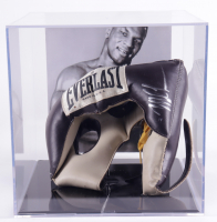 Mike Tyson Signed Vintage Everlast Boxing Sparring Helmet With Display Case (PSA COA) (See Description) at PristineAuction.com