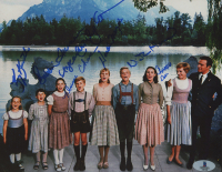 """""""The Sound of Music"""" 8x10 Photo Signed by (7) with Charmain Carr, Nicholas Hammond, Heather Menzies, Duane Chase (Beckett COA) at PristineAuction.com"""