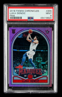 Luka Doncic 2018-19 Panini Chronicles Pink #255 / Marquee RC (PSA 9) at PristineAuction.com