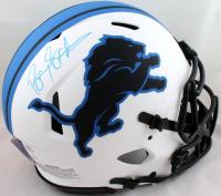 Barry Sanders Signed Lions Full-Size Authentic On-Field Lunar Eclipse Alternate Speed Helmet (JSA COA & Schwartz Hologram) at PristineAuction.com