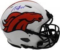 Melvin Gordon Signed Broncos Full-Size Authentic On-Field Lunar Eclipse Alternate Speed Helmet (Radtke COA) at PristineAuction.com