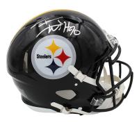 T.J. Watt Signed Steelers Full-Size Authentic On-Field Speed Helmet (Radtke COA) at PristineAuction.com