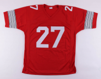 """Eddie George Signed Jersey Inscribed """"Heisman 1995"""" (Beckett COA) at PristineAuction.com"""