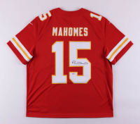 Patrick Mahomes Signed Chiefs Jersey (Beckett COA) at PristineAuction.com