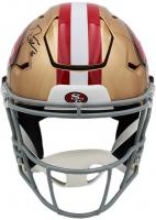George Kittle Signed 49ers Full-Size Authentic On-Field SpeedFlex Helmet (Radtke COA) at PristineAuction.com