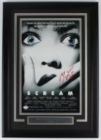 "Matthew Lillard Signed ""Scream"" 17x24 Custom Framed Movie Poster Display (PSA Hologram) at PristineAuction.com"