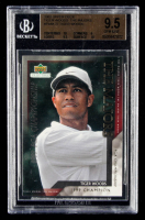 Tiger Woods 2002 Upper Deck Tiger Woods The Majors #TWM27 (BGS 9.5) at PristineAuction.com