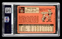 "Reggie Jackson Signed 1969 Topps #260 RC Inscribed ""14 AL All Star"", ""5x WS Champ"", ""4x HR Leader"" & ""HOF 1993"" (PSA Encapsulated) at PristineAuction.com"