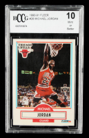 Michael Jordan 1990-91 Fleer #26 (BCCG 10) at PristineAuction.com