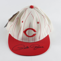 Pete Rose Signed Reds Hat (JSA COA) at PristineAuction.com