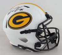 Robert Tonyan Signed Packers Full-Size Lunar Eclipse Alternate Speed Helmet (Beckett Hologram) (See Description) at PristineAuction.com