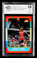 Michael Jordan 1996-97 Fleer Decade of Excellence #4 (BCCG 10) at PristineAuction.com