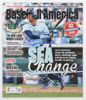 Julio Rodriguez Signed 2021 Baseball America Magazine (JSA COA) at PristineAuction.com