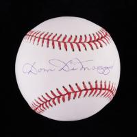 Dom DiMaggio Signed OML Baseball (PSA COA) at PristineAuction.com