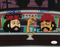 "Cheech Marin & Tommy Chong Signed ""Cheech & Chong's Animated Movie"" 8x10 Photo (JSA COA) at PristineAuction.com"