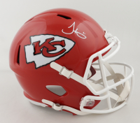 Tyreek Hill Signed Cheifs Full-Size Speed Helmet (JSA COA) at PristineAuction.com