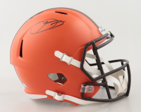 Odell Beckham Jr. Signed Browns Full-Size Speed Helmet (JSA COA) at PristineAuction.com