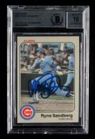 Ryne Sandberg Signed 1983 Fleer #507 RC (BGS Encapsulated) at PristineAuction.com