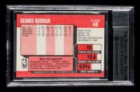 Dennis Rodman Signed 1989-90 Fleer #49 (BGS Encapsulated) at PristineAuction.com