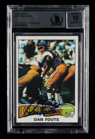 Dan Fouts Signed 1975 Topps #367 RC (BGS Encapsulated) at PristineAuction.com