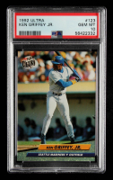 Ken Griffey Jr. 1992 Fleer Ultra #123 (PSA 10) at PristineAuction.com