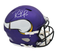 Randy Moss Signed Vikings Full-Size Authentic On-Field Speed Helmet (Beckett COA) at PristineAuction.com