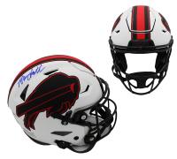 Bruce Smith Signed Bills Full-Size Authentic On-Field Lunar Eclipse Alternate SpeedFlex Helmet (Radtke COA) at PristineAuction.com