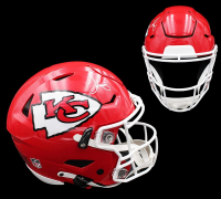 Tyreek Hill Signed Chiefs Full-Size Authentic On-Field SpeedFlex Helmet (Radtke COA) at PristineAuction.com