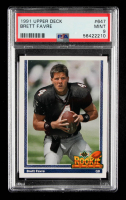 Brett Favre 1991 Upper Deck #647 RC (PSA 9) at PristineAuction.com