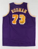 Dennis Rodman Signed Jersey (Beckett COA) (See Description) at PristineAuction.com