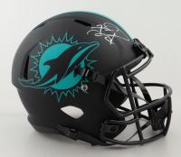 Tua Tagovailoa Signed Dolphins Full-Size Eclipse Alternate Speed Helmet (Fanatics Hologram) at PristineAuction.com