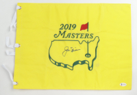 Jack Nicklaus Signed 2019 Masters Tournament Pin Flag (Beckett LOA) at PristineAuction.com