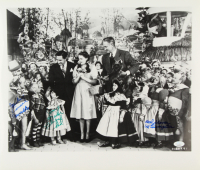 """Jerry Maren, Mickey Carroll & Karl Slover Signed """"Wizard of Oz"""" 16x20 Photo with Inscriptions (JSA COA) at PristineAuction.com"""
