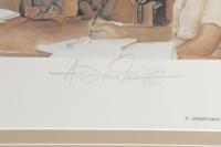 "Rosa Parks Signed ""The Mentor"" 25x29 Custom Framed Print Display (JSA ALOA) at PristineAuction.com"