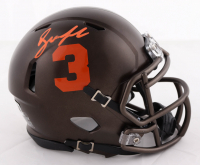 Drew Lock Signed Broncos Speed Mini Helmet (Beckett Hologram) at PristineAuction.com
