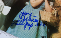 """""""The Wizard of Oz"""" 11x14 Photo Signed by (4) with Mickey Carroll, Jerry Maren, Karl Slover & Donna Stewart-Hardway with Inscriptions (JSA COA) at PristineAuction.com"""
