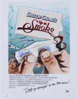 """Tommy Chong & Cheech Marin Signed """"Up in Smoke"""" 11x14 Photo (JSA COA) at PristineAuction.com"""