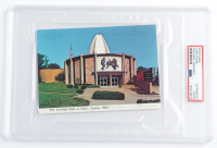 Tom Fears Signed 4x6 Postcard (PSA Encapsulated) at PristineAuction.com