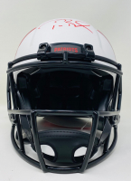 Tom Brady Signed Patriots Full-Size Authentic On-Field Lunar Eclipse Alternate Speed Helmet (Fanatics LOA) at PristineAuction.com