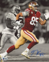 George Kittle Signed 49ers 8x10 Photo (Beckett COA) (See Description) at PristineAuction.com