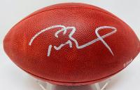 Tom Brady Signed LE Buccaneers Super Bowl LV Logo Football (Fanatics Hologram) at PristineAuction.com