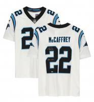"Christian McCaffrey Signed Panthers Jersey Inscribed ""Run CMC"" (Fanatics Hologram) at PristineAuction.com"