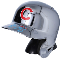 Anthony Rizzo Signed Cubs Chrome Mini Batting Helmet (Fanatics Hologram) at PristineAuction.com