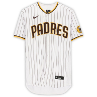 Manny Machado Signed Padres Jersey (Fanatics Hologram) at PristineAuction.com