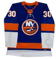 "Ilya Sorokin Signed Islanders Jersey Inscribed ""NHL Debut 1/16/21"" (Fanatics Hologram) at PristineAuction.com"