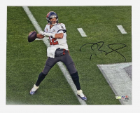 Tom Brady Signed Buccaneers 16x20 Photo (Fanatics LOA) at PristineAuction.com