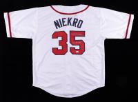 "Phil Niekro Signed Jersey Inscribed ""H.O.F. - 97"" (JSA Hologram) at PristineAuction.com"