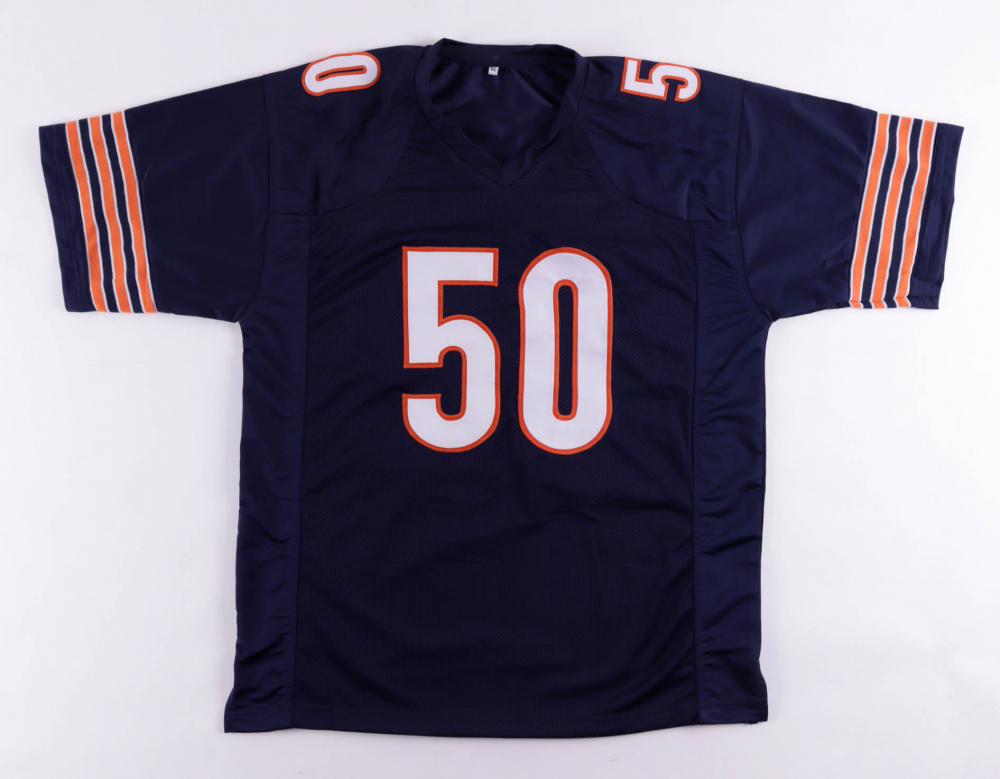 Mike Singletary Signed Jersey Inscribed